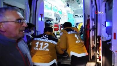 yolcu otobusu -  Sivas'ta otobüs kazası: 39 yaralı
