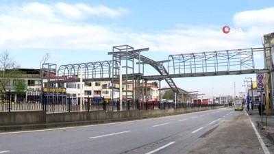 ust gecit -  Bursa'nın T2 tramvay hattındaki çalışmalar aralıksız devam ediyor