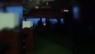 Hatay'da kavga ihbarına giden polis ekiplerine sürpriz