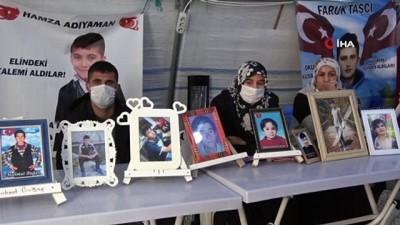 guvenlik gucleri -  HDP önünde evlat nöbetindeki annelerin haykırışı sürüyor