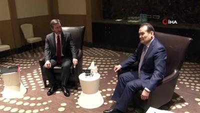 - İletişim Başkanı Altun, Azerbaycan Cumhurbaşkanı Yardımcısı Haciyev ve Türk Konseyi Genel Sekreteri Amreyev ile görüştü - İletişim Başkanı Altun Azerbaycan'da