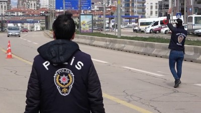 Kırıkkale'de korona virüs denetimleri: Sürücü ve yolcuların 'HES kodu' kontrol edildi