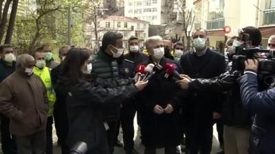 Mansur Yavaş istinat duvarı yıkılan binayla alakalı açıklamalarda bulundu