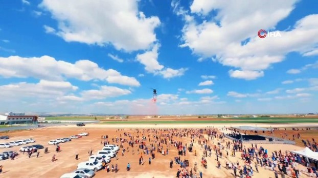 helikopter -  Solotürk'ten Şanlıurfa'da nefes kesen gösteri