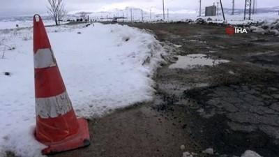 kar kalinligi -  Aksaray'da kapanan köy yolları trafiğe açıldı