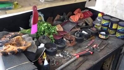 iran -  - Ayakkabı tamircisi Abdurrahman amca, yer konusunda yardım istedi