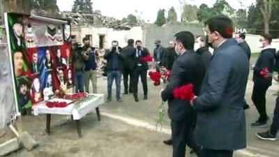 - Cumhurbaşkanlığı İletişim Başkanı Altun 26 sivilin hayatını kaybettiği Gence'de