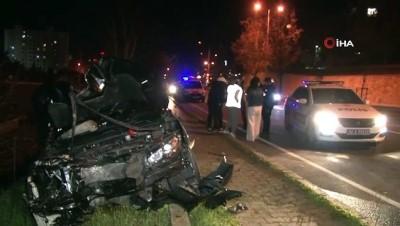 basin mensuplari -  Kartal'da kısıtlamayı delip kaza yapan alkolü sürücünün yalanını polis böyle ortaya çıkardı