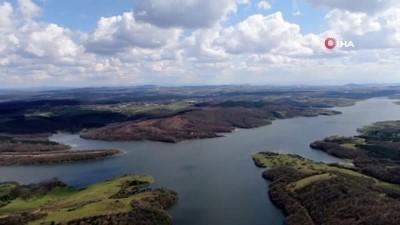 doluluk orani -  Ömerli Barajında doluluk oranı rekor seviyeye ulaştı