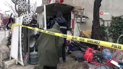 kacak -  Tamirci dükkanında LPG tankı patladı: 1 yaralı