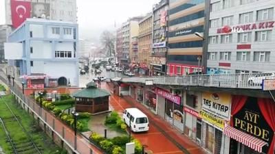 market -  Zonguldak'ta kısıtlama günü sokaklarda sessizlik