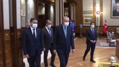basbakan -  Cumhurbaşkanı Erdoğan, Libya Milli Birlik Hükumeti Başbakanı Dibeybe'yi kabul etti