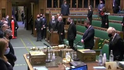 parlamento -  - İngiltere parlamentosunda Prens Philip anısına saygı duruşu