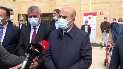 Mardin'de Hijyenik Sütler ve Yorulmayan Bedenler projesi kapsamında süt sağım makineleri dağıtıldı