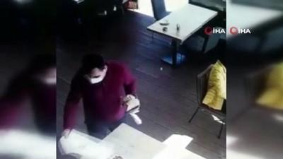 adli kontrol -  Şişli'de restoranda hırsızlık anları kamerada