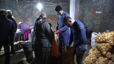 TMO Patates alımını sürdürüyor, çiftçiler durumdan memnun