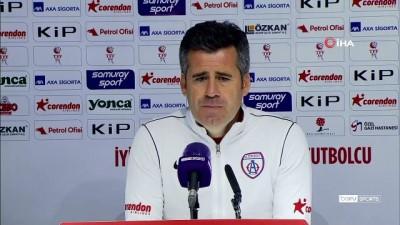 Hüseyin Eroğlu: 'Son 4 maçı en iyi şekilde değerlendirip Play-Off'ta olmak istiyoruz'
