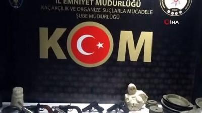 kacak -  Kastamonu'da tarihi eser ve silah kaçakçılığı operasyonu