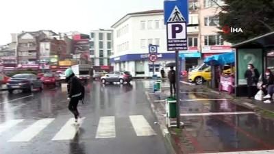 Kırklareli'nde sağanak yağış