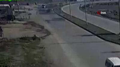 Köpeğe çarpıp olay yerinden kaçan sürücü polislerden kaçamadı