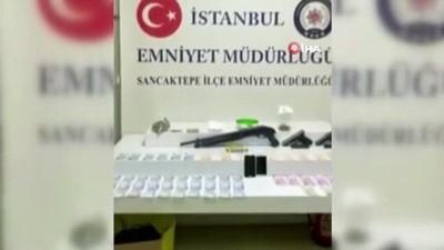 pompali tufek -  Sancaktepe'de evinde uyuşturucu satan şahıs kıskıvrak yakalandı