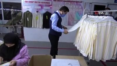 Simav'dan 83 ülkeye tekstil ihracatı