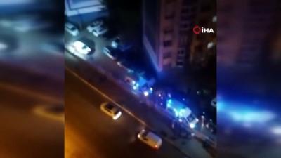 Site sakiniyle site yöneticisi arasında çıkan silahlı kavgada 2 kişi yaralandı