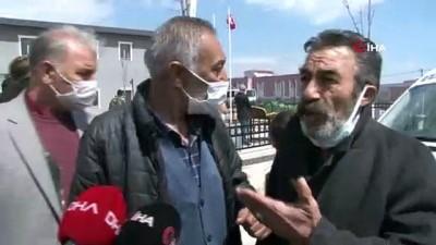 Yanan evde cesedi zincirle bağlanmış halde bulunan vatandaş son yolculuğuna uğurlandı