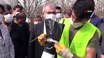Diyarbakır'da ilk kez kestane ağacı aşılandı