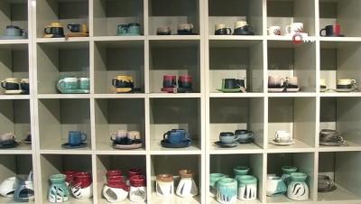 Eskişehir'de üretilen fincanlar dünyanın farklı ülkelerine satılıyor