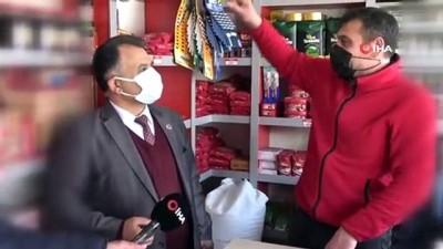 Hayırsever işadamı mahallelinin bakkal borcunu temizledi