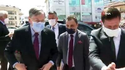 İYİ Parti Genel Başkanı Akşener, ABD Büyükelçisi Satterfield ile görüştü
