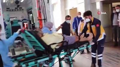 Kocaeli'de patlama.. Döküm fabrikasında kazan patladı.. Yaralılar var