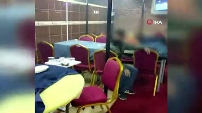Konya'da kısıtlamada kumar oynatılan iş yerine baskın