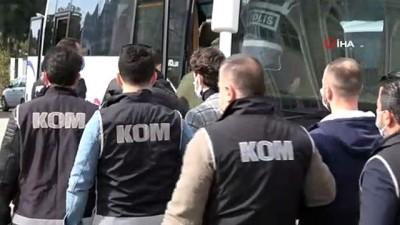 pompali tufek -  Samsun merkezli suç örgütü operasyonunda 11 kişi adliyeye sevk edildi