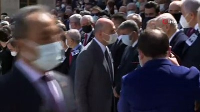 TBMM Eski Başkanı Yıldırım Akbulut için cenaze töreni düzenlendi