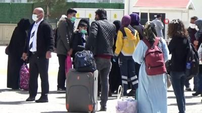 Testi pozitif olan yolcunun bulunduğu otobüsteki 47 kişi karantinaya alındı