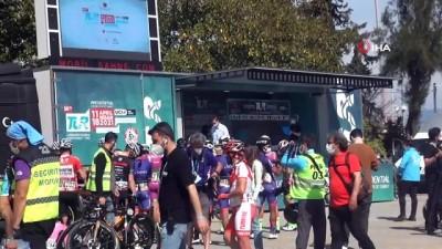 56. Cumhurbaşkanlığı Bisiklet Turu Fethiye-Marmaris etabı başladı