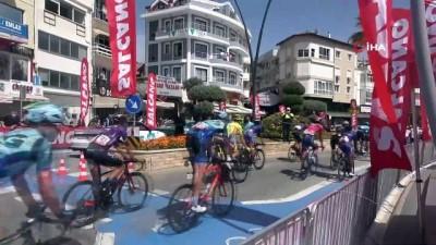 56. Cumhurbaşkanlığı Bisiklet Turu'nun Fethiye - Marmaris etabı tamamlandı