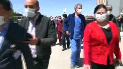 """Başhekim Çelik: """"Pandemi kalp krizi oranını arttırdı"""""""