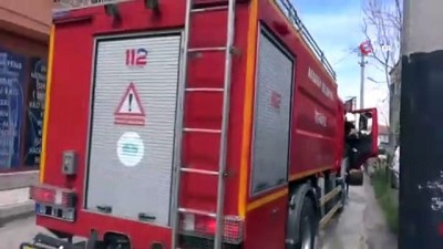 Çocukların tüple oynaması sonucu yangın çıktı.. Duyarlı vatandaş ve itfaiye müdahale etti