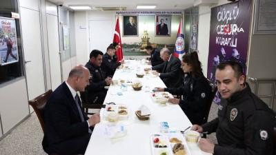 polis merkezi -  Cumhurbaşkanı Erdoğan'dan Çengelköy Polis Merkezi'ne iftar ziyareti