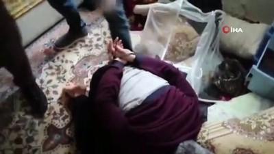 DEAŞ'ın sözde yetkililerinden biri bazanın altından çıktı, yakalanınca hüngür hüngür ağladı