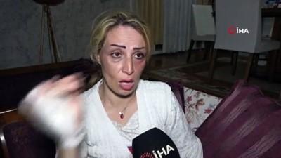 İranlı mimar kadın eşinden öldüresiye dayak yedi... O anlar kamerada
