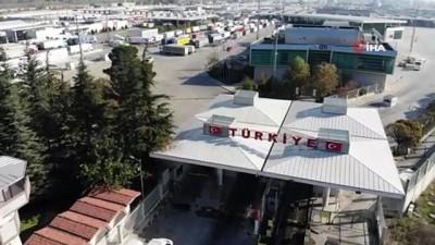 Kapıkule'de tüm zamanların rekoru kırıldı: 24 saatte tam bin 438 tır