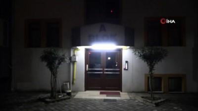 Karabük'te 5 katlı apartman karantinaya alındı