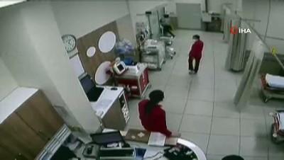 polis merkezi -  Korona virüs testi isteyen doktora darp anları kamerada