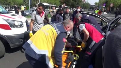 Otomobil, dönüşü yasak olan yola girdi: 5'i ağır 7 yaralı