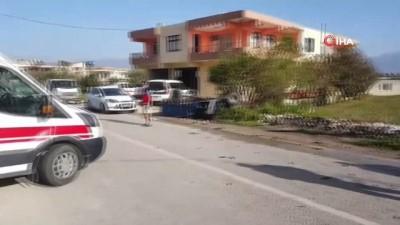 Patpat ile otomobil çarpıştı: 1 kişi yaralandı