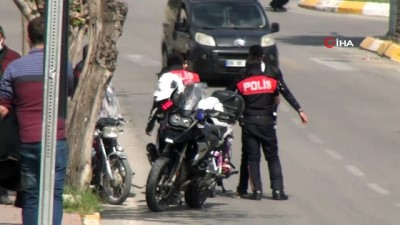 Şanlıurfa'da motosiklet denetimi